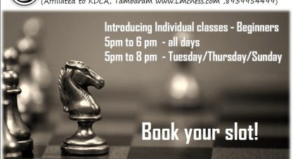 Introducing Individual Classes-Beginners