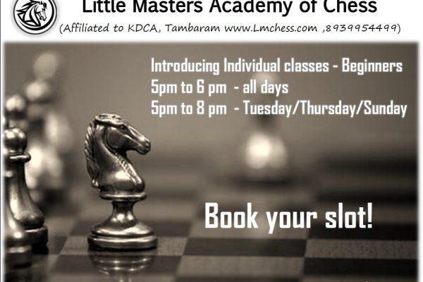 Introducing Individual Classes-Beginners
